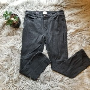 ST JOHN'S BAY - black straight leg jeans